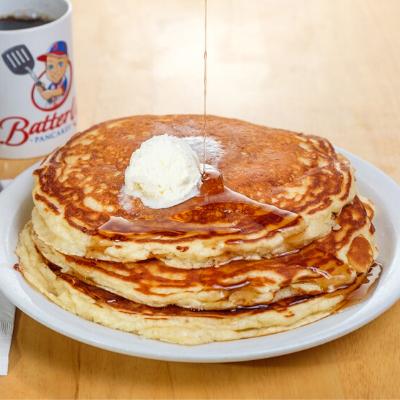 3 stack pancakes | Batter Up pancakes
