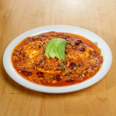 chorizo or chicken omelette | Batter up Pancakes