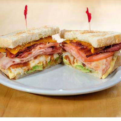 breakfast club sandwich | Batter Up Pancakes