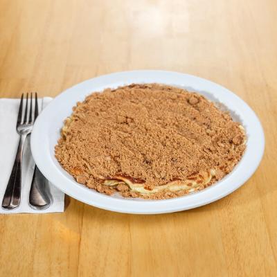 coffee crunch pancake