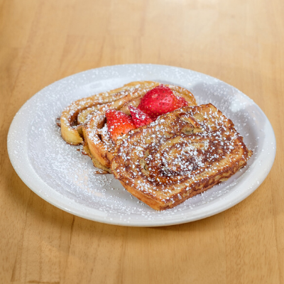 cinnamon roll french toast | Batter Up Pancake
