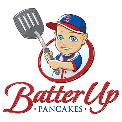 Batter up Pancakes Logo